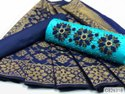 Trendy Heavy Cotton Pearl With Embroidery Dress Materials