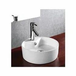 Tita White Lilly Art Basin, For Bathroom