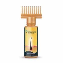 Anti Dandruff Natural Indulekha Bhringa Hair Oil, Packaging Size: 100 ml