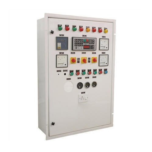Mild Steel Three Phase AMF Control Panel, Automatic Grade: Automatic