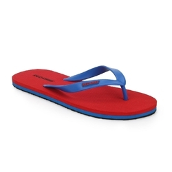 Blue and Red Chief RC3490 Rubber Red Flip-Flops, Size: 6 and 8