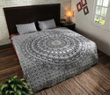 Mandala Printed Cotton Duvet and Pillow Cover
