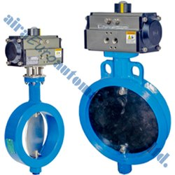 Pneumatic Wafer Type Damper Valve