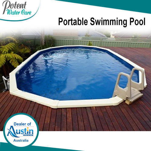 Portable swimming pool for hotels rs 250000 piece for Portable pool