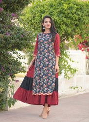 Cotton Falex Printed Kurtis