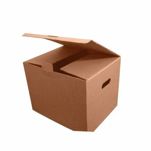 Brown 1-5 Kg Corrugated Boxes