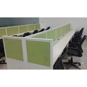 Colored Modern Office Workstation