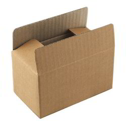 Double Wall - 5 Ply Rectangle Biodegradable Corrugated Carton Box, Weight Holding Capacity (Kg): >25 kg
