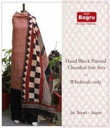 Bagru Dress Material
