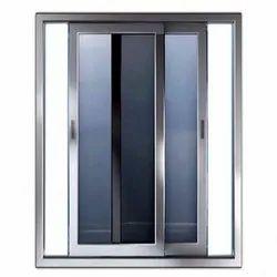 Designer Toughened Glass UPVC Sliding Doors, Interior