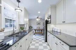 Wooden Straight Galley Kitchen, Warranty: 5-10 Years