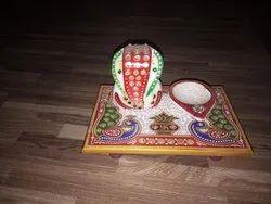 Marble Choki Ganesh
