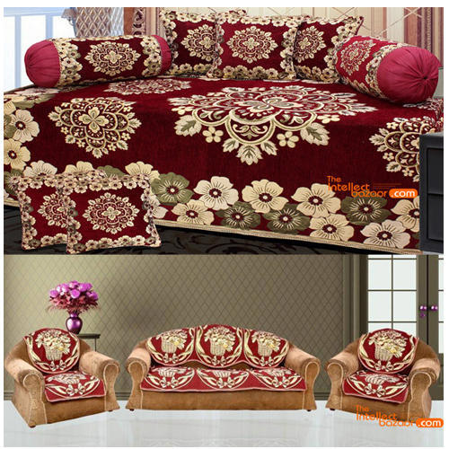 Floral Sofa Cover