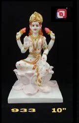 Artificial Gold Polyresin Laxmi God Idol