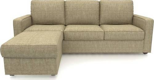 Boss Compact Fabric 3 1 Sandstorm Sofa Set