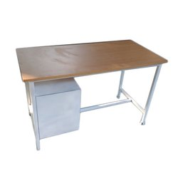 Yashika Enterprises Rectangular Mild Steel Office Table, Size: 3x2 Feet