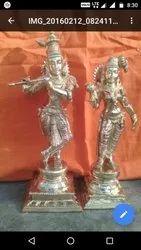 Radha Krishna 12 inches bronze