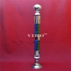Stainless Steel Taper Rajwadi Railing Pillar