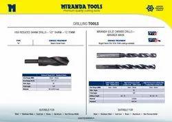 MIRANDA Solid Carbide Drill
