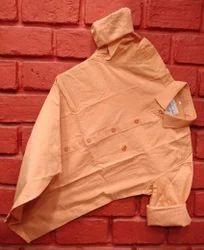 Men Orange Color Casual Shirt