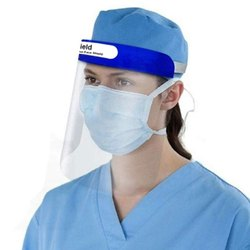 Oriley Orfsn01 350 Micron Disposable Face Shield  Full Face Visor With Eye & Head Protection (1 Pc)