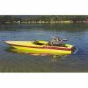 Fiberglass Motor Boat