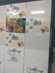 Ceramic Kitchen Tiles, Size: 300*450 mm, Thickness: 6 - 8 mm