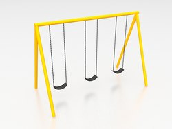 School Play Ground Swing