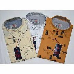 Trendzz Full Sleeves Fancy Printed Shirts