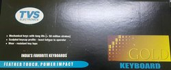 TVS Gold Wired USB Desktop Keyboard  (Black)