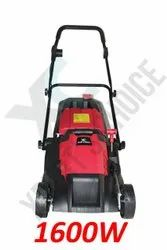 XPERT'S CHOICE Red 1600W Electric Lawn Mower, 5 Height Adjusting Level, 380mm