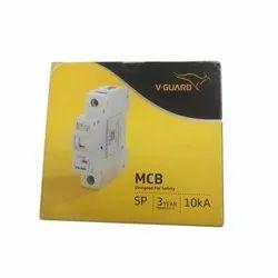 V Guard Single Pole MCB