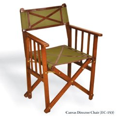 Brown EC-153 Canvas Director Chair