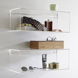 Acrylic Wall Decor Shelf