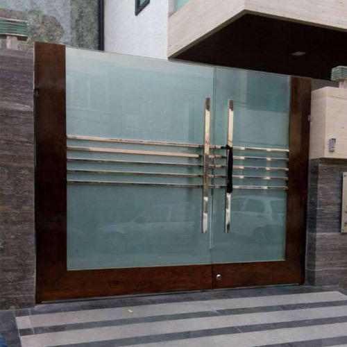 Stainless Steel Main Gate. Stainless Steel Main Gate at Rs 1200  square feet   Shahdara