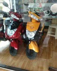 Blac Motor Black Ampere Reo E Bike