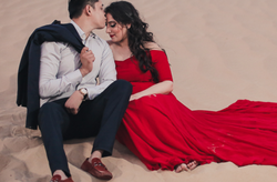 Desert Pre-Wedding Photography Service