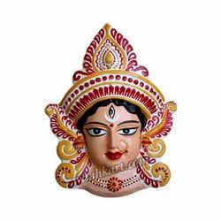 Divine Durga Mata Face Wall Hanging