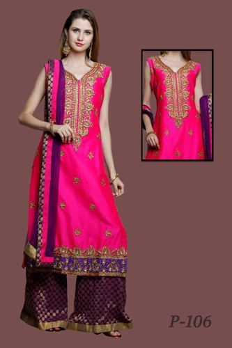 da7883d530 Pink Designer Heavy Suits For Ladies, Rs 4750 /piece, Adaa Fashion ...