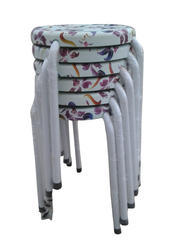 Stackable Stools Stacking Chairs - Purple Flowers  (10 Pcs.)