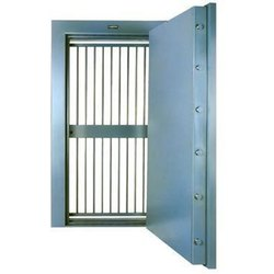 Iron Hinged Strong Room Door for Banks