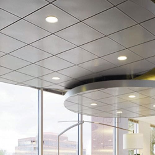 Commercial Interiors Grid False Ceiling Service Provider
