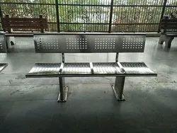 Rectangular SS Bench