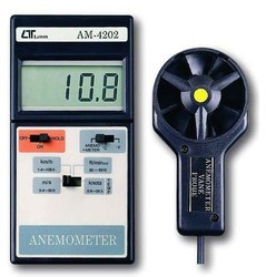 Lutron AM-4202 Digital Anemometer With Temperature Measurement Sensor