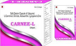 Soft Gelatin Capsule of Ubiquinol L-Carnitine L-Tartrate Astaxanthin Lycopene and Zinc
