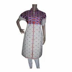 Sahej Suit Cotton Ladies Designer Semi Stitched Kurti