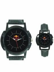 Black Corporate Promotional Logo Wrist Watch Pair