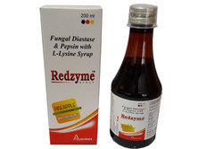 Fungal Diastase 50 Mg Pepsin 10 Mg L Lycine 10 Mg (Digestive Enzyme), Packaging Size: 200 Ml