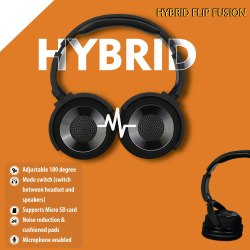 Hybrid FLP Fusion Headphone