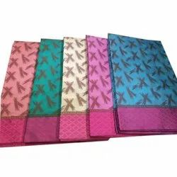 Casual Wear Ladies Pure Cotton Saree, With blouse piece, 6.25 m